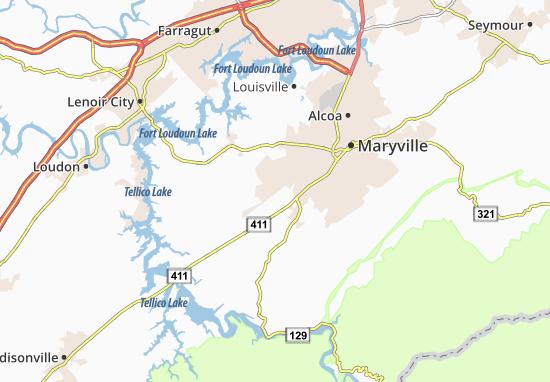 Binfield Map