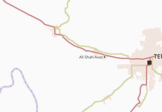 Mapa Plano Qal Eh-ye Hasan Khan