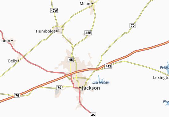 Oakfield Map