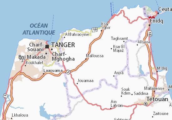 Mapas-Planos Malloussa