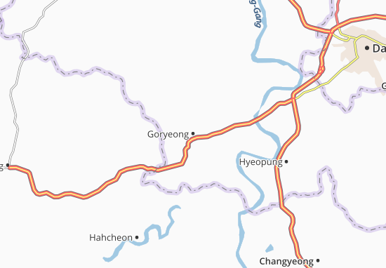Mappe-Piantine Goryeong