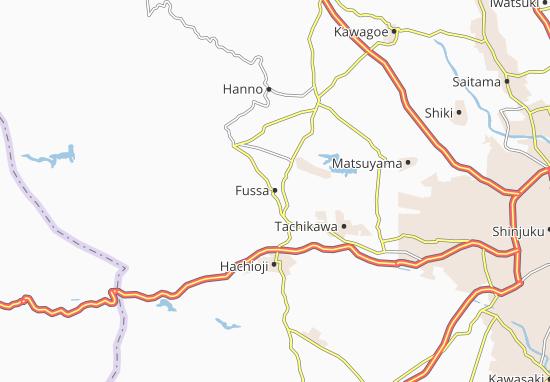 Fussa Map