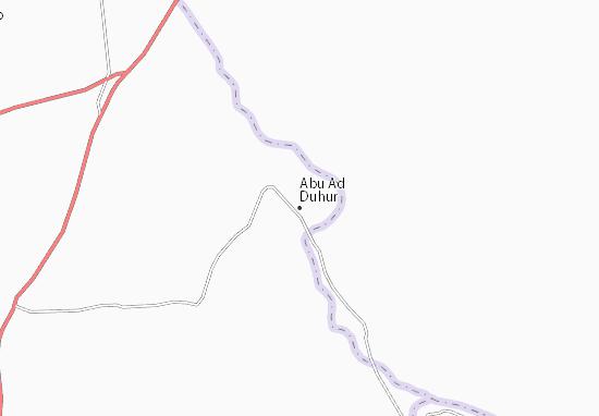 Carte-Plan Abu Ad Duhur