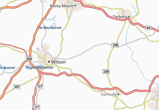 Wilbanks Map