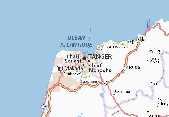Mappe-Piantine Tanger