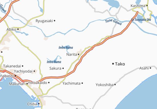 Narita Map