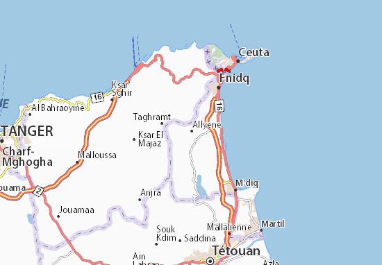 Allyene Map