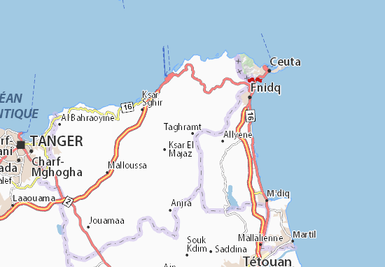 Taghramt Map