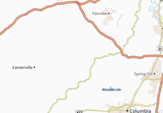 Primm Springs Map