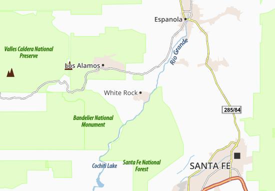 White Rock Map