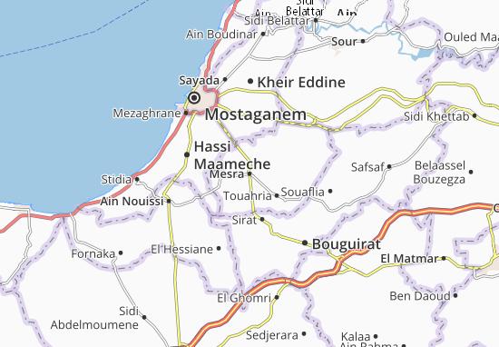 Carte-Plan Mesra