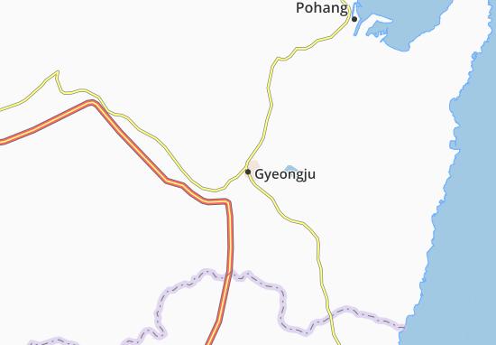 Gyeongju Map