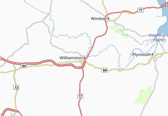Williamston Map