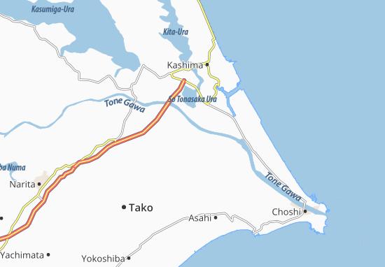 Carte-Plan Omigawa