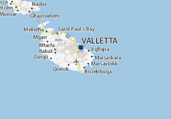 Kaart Plattegrond Żejtun
