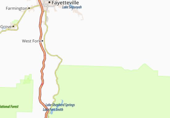 Hazel Valley Map