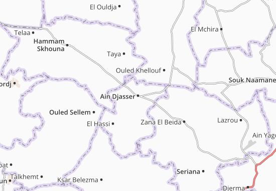 Carte-Plan Ain Djasser