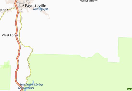Kaart Plattegrond Crosses