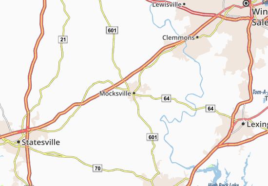 Mappe-Piantine Mocksville