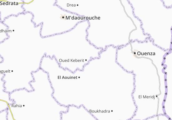Carte-Plan Oued Keberit
