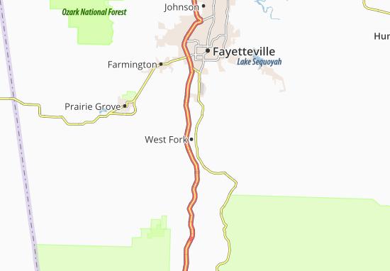 Mapas-Planos West Fork