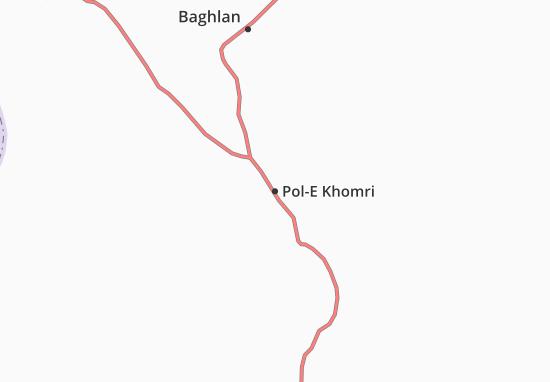 Pol-E Khomri Map