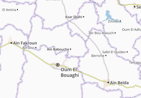 Carte-Plan Ain Babouche