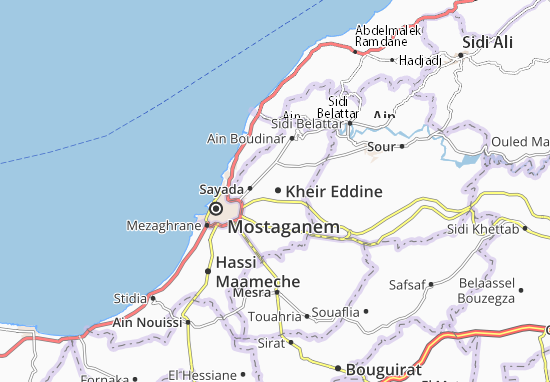 Carte-Plan Kheir Eddine