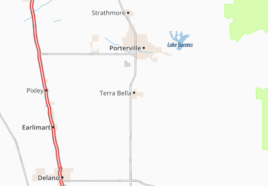 Terra Bella Map