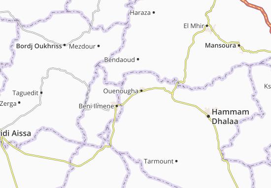 Carte-Plan Ouenougha