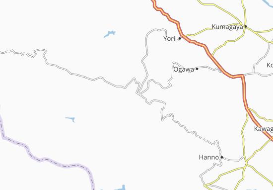 Chichibu Map