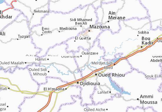 Carte-Plan Ouarizane