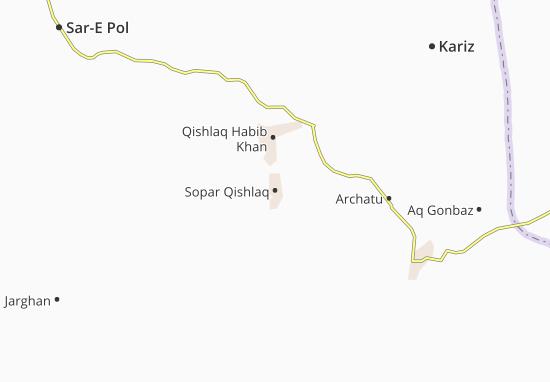 Mappe-Piantine Sopar Qishlaq