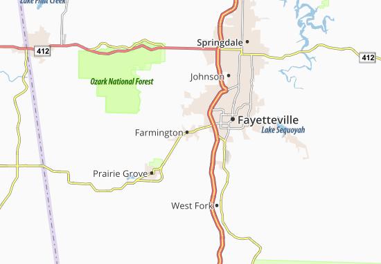 Carte-Plan Farmington