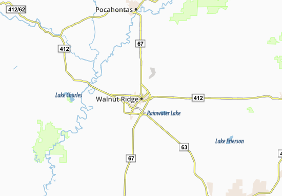 Walnut Ridge Map