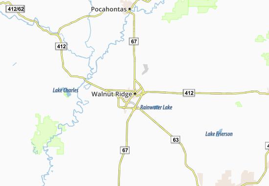 Mapas-Planos Walnut Ridge
