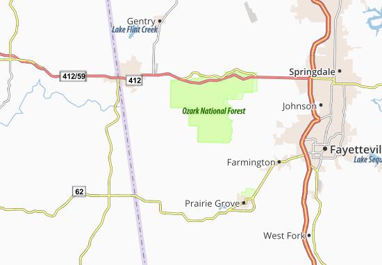 Carte-Plan Wedington