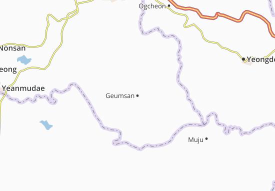 Carte-Plan Geumsan