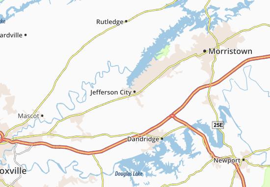 Carte-Plan Jefferson City