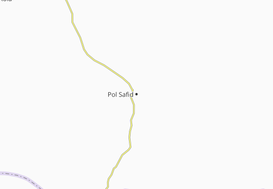 Carte-Plan Pol Safid