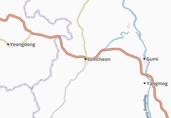 Carte-Plan Gimcheon