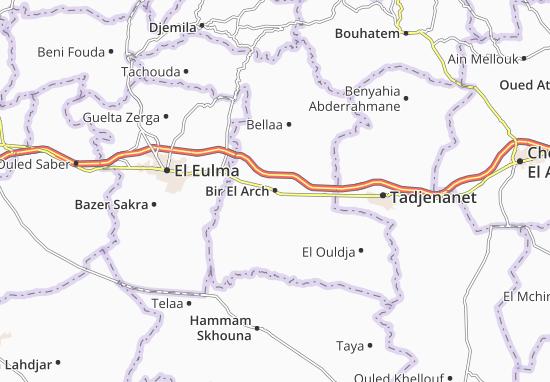 Bir El Arch Map