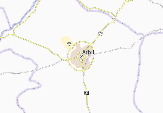 Carte-Plan Arbil