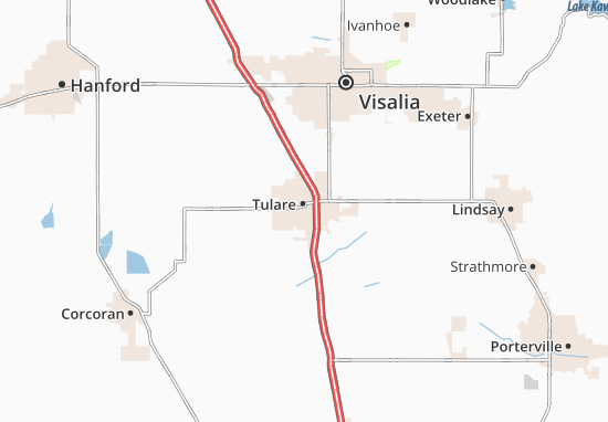 Tulare Map