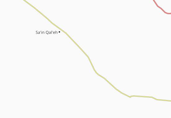 Khorram Darreh Map