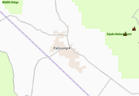 Carte-Plan Pahrump
