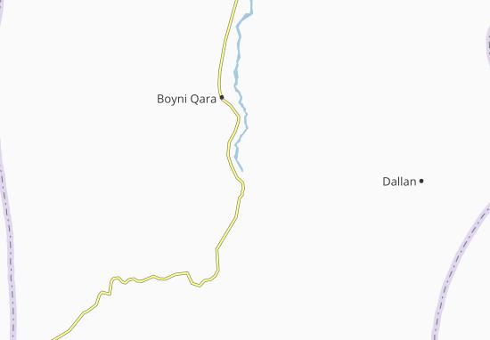 Qezel Kand Map
