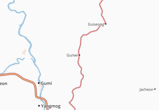 Mappe-Piantine Gunwi