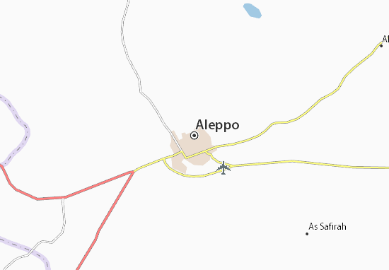 Carte-Plan Aleppo
