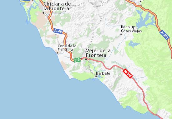 Mapas-Planos Vejer de la Frontera